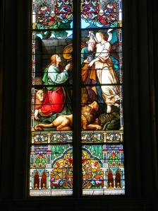 Daniel in Stained Glass