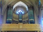 Pipes from Original Organ in Choir Loft