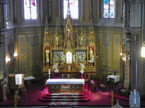 altar from Choir loft