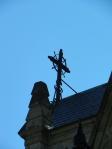 cross on roof