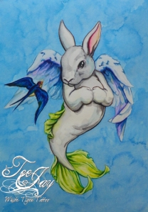 mermaid bunny