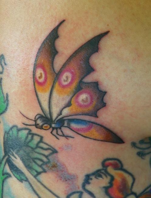 my tattoo from Pat Sinatra