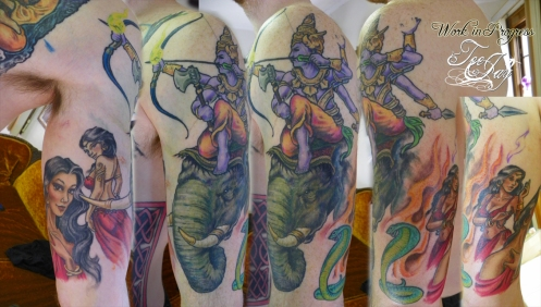 Mara and daughters tattoo
