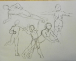 gesture drawing male