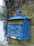 old metal mailbox