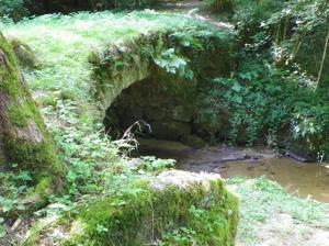 bridge at Vallee du Madet