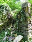 wall ruins at Vallee du Madet