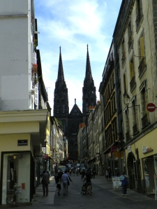 cathedral in distance