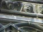face on cathedral