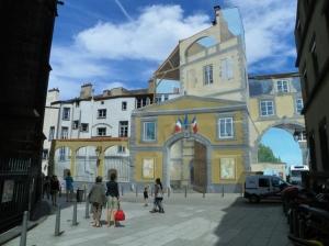 painted mural