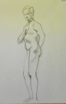 standing figure drawing male