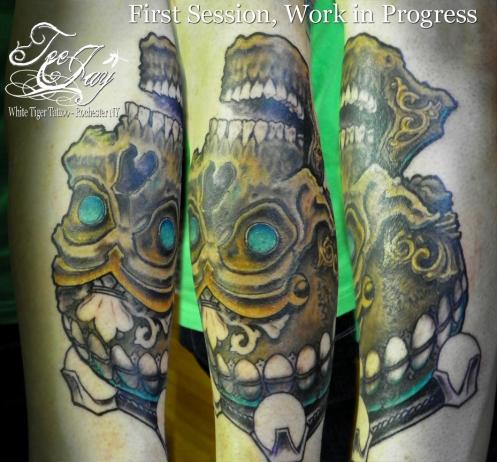 Kapala Skull tattoo