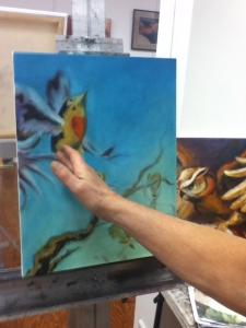 bird painting critique