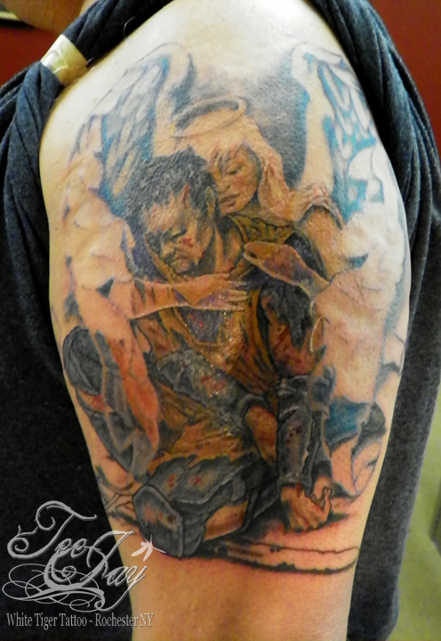 fallen knight tattoo
