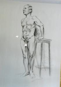 standing figure male