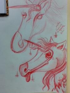safety pin unicorn