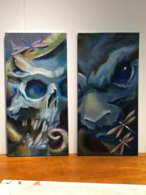 TeeJay paintings