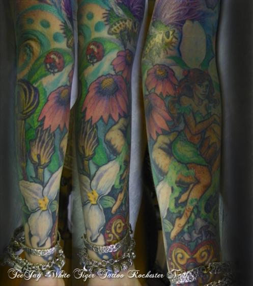 Sarah Lower Arm tattoo