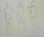gesture drawing figure