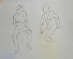 gesture drawing male