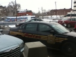 Detroit Cop car