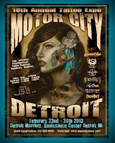 Motor City Tattoo Expo Detroit