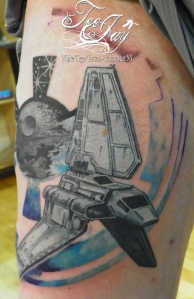 imperial shuttle tattoo