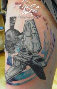 imperial shuttle tattoo