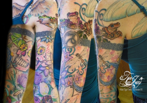 upper arm girlie sleeve