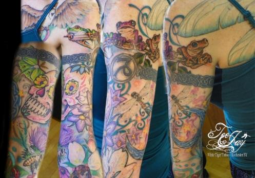 upper arm girlie sleeve