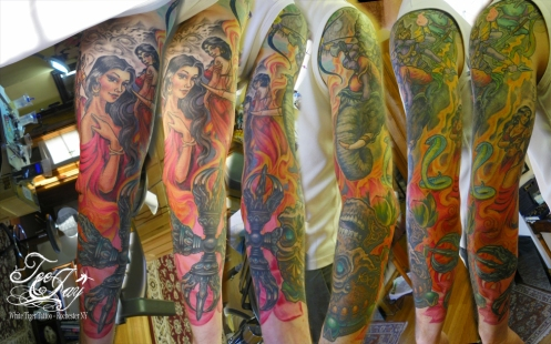 Mara sleeve tattoo