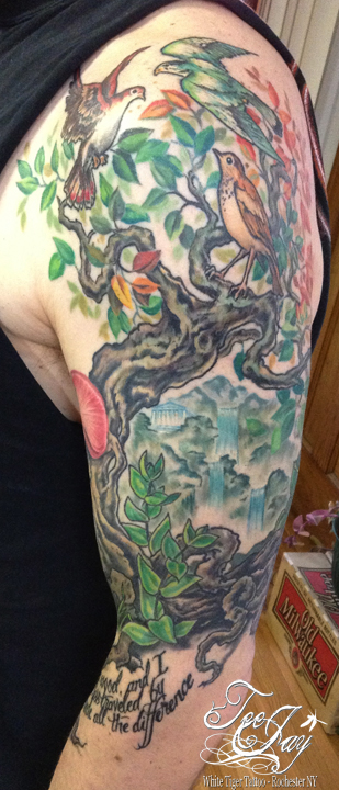 family tree tattoo