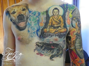 Buddha Mara tattoo