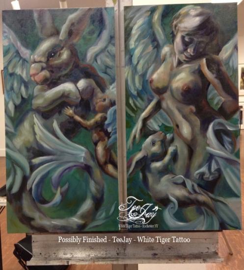 teejay oil paintings