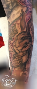 March Hare tattoo
