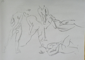 gesture drawing female