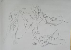 gesture drawing female