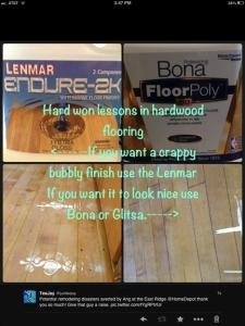 flooring misadventures