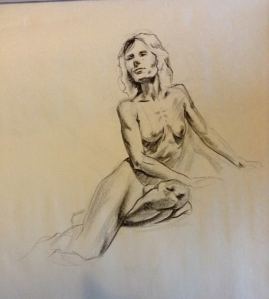 female figure drawing