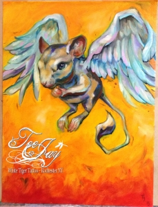 Flying Rodent painting