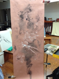 figure drawing at Steve Carpenter Studio