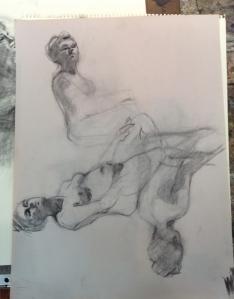 figure drawing at Steve Carpenter Studio