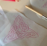 triangular celtic knot
