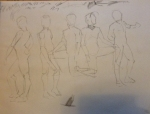 gesture drawings male