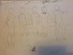 gesture drawings male