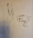 figure drawing male sitting