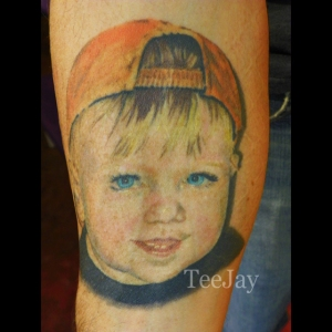 Evan - portrait tattoo