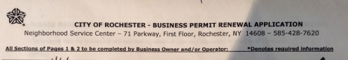 Business Permit Renewal