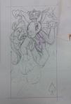 bunny suicide queen sketch