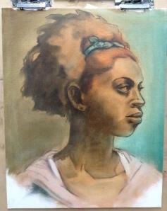 oil painting underpaint
